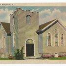 Methodist Episcopal Church Barryville New York Postcard