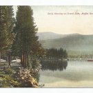 Early Morning Grand Lake Moffat Road Colorado Postcard