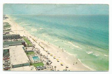 Aerial View Long Beach Florida 1950s? 1960s? Postcard