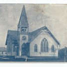 New Methodist Church Franklin Nebraska 1908 Postcard