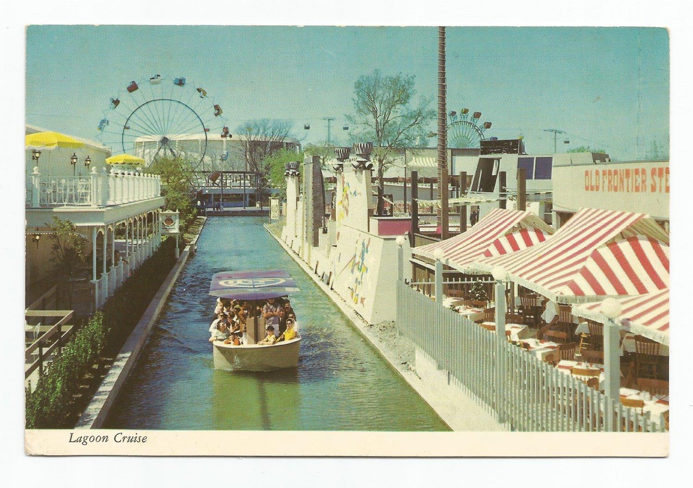 Lagoon Cruise 1968 Hemisfair San Antonio Texas Postcard