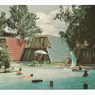 Heidelberg Lodges New Braunfels Texas Postcard