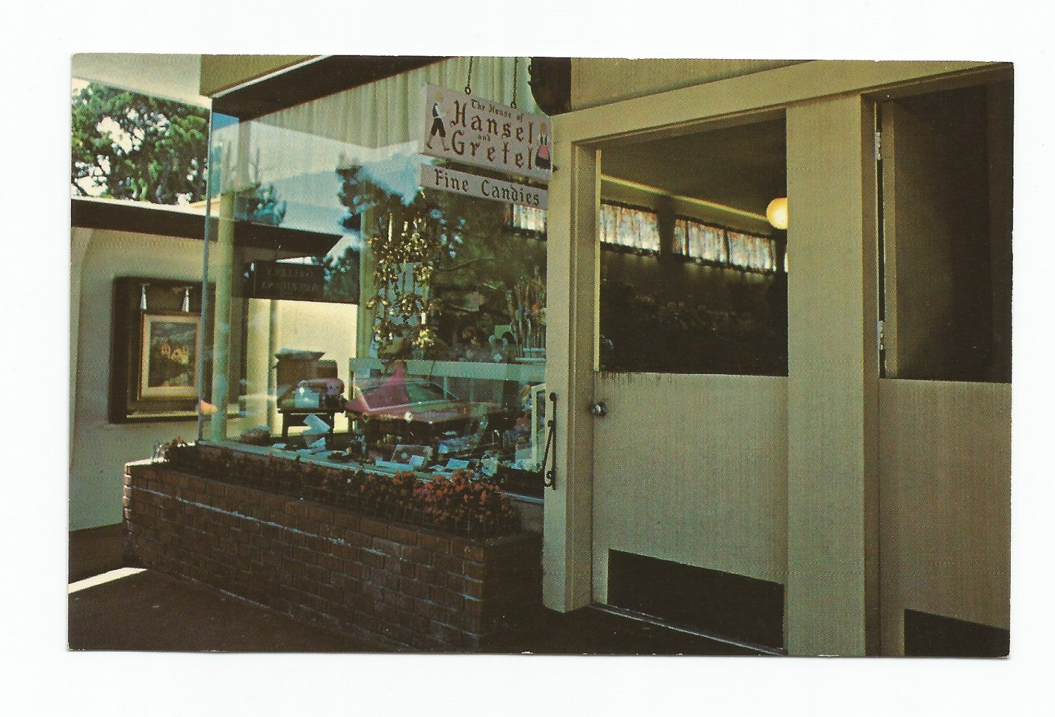 Hansel and Gretel Candy Shop Carmel-by-the-Sea Postcard