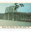 Highway Bridge Barkley Lake Cadiz Kentucky Postcard 1960s