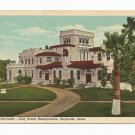 Santa Gertrudis King Ranch Headquarters Kingsville Texas Postcard