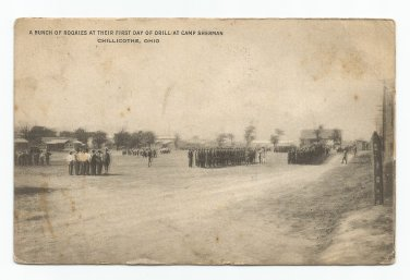 Rookies Camp Sherman Chillicothe Ohio 1918