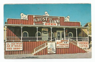 Frontier Ghost Town Bliss Idaho Postcard