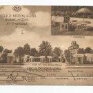 Circle K Motor Hotel Phoenix Arizona 1940s Postcard