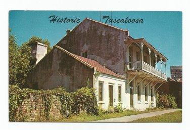 Old Stagecoach Inn Tuscaloosa Alabama Postcard