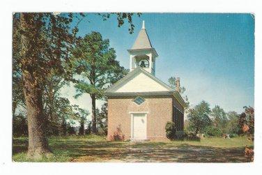 St. Georges Episcopal Church Pungoteague Virginia Postcard