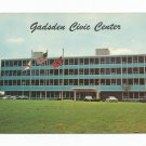 Gadsden Civic Center Alabama 1960s Postcard