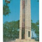 Mier Black Bean Expedition Monument La Grange Texas Postcard