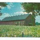 Tobacco Barn Tobacco Field Scott County Kentucky Postcard