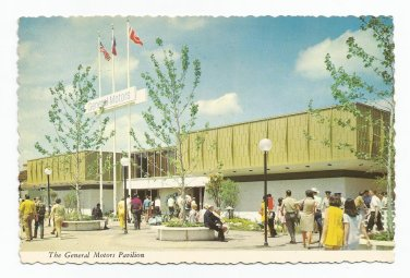 General Motors Pavilion 1968 Hemisfair San Antonio Texas Postcard