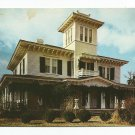 Ten Oaks T. Weller Smith Home Jacksonville Alabama Postcard