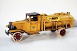SimpleYears Yellow Pennzoil fuel delivery tank truck JL05B