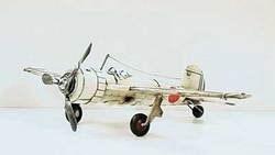 SimpleYears Japanese fighter plane WW II white  JL201