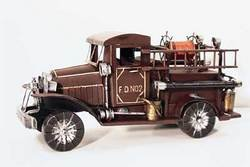 SimpleYears Brownish fire truck F.D. NO.2 Ladder & hose  JL911