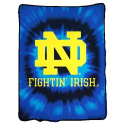 Notre Dame Irish Royal Plush Raschel NCAA Blanket  Nor5NDIrish-800Series