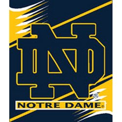 Notre Dame Irish Royal Plush Raschel NCAA Blanket   Nor5NDIrish-700Series