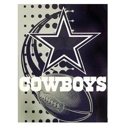 Dallas Cowboys Royal Plush Raschel NFL Blanket    Nor1Dal-800Flash