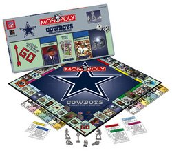 Dallas Cowboys NFL Team Collector's Edition Monopoly  USA-MN016008