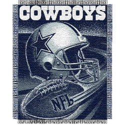 Dallas Cowboys Triple Woven Jacquard NFL Throw    Nor1Dal-019Series