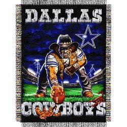 Dallas Cowboys Triple Woven Tapestry NFL Throw    Nor1Dal-051TPS
