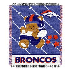 Denver Broncos Triple Woven Jacquard NFL Throw    Nor1Den-044Baby