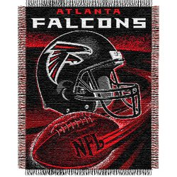 Atlanta Falcons Triple Woven Jacquard NFL Throw    Nor1Atl-019Series
