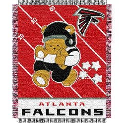 Atlanta Falcons Triple Woven Jacquard NFL Throw   Nor1Atl-044Baby