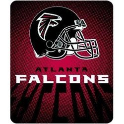 Atlanta Falcons Royal Plush Raschel NFL Blanket   Nor1Atl-702Lights
