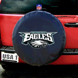 Philadelphia Eagles NFL Spare Tire Cover by Fremont Die (Black)   Fmt1TC-Phi-98417