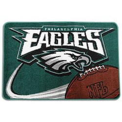 Philadelphia Eagles Tufted NFL Rug by Northwest  Nor1Phi-333TuftedRug