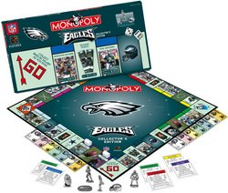 Philadelphia Eagles NFL Team Collector's Edition Monopoly   USA-MN016043