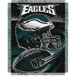 Philadelphia Eagles Triple Woven Jacquard NFL Throw   Nor1Phi-019Series