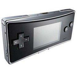 Gameboy Micro Silver Black FP   OXYSEBA