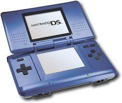 Nintendo DS Electric Blue   NTRSBKA