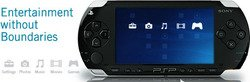 Sony PlayStation Portable (PSP) Black    1014