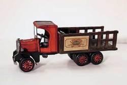 SimpleYears Red cab rack truck 10 wheeler   JL313