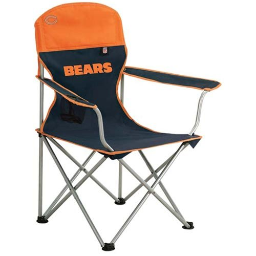Chicago Bears NFL Deluxe Folding Arm Chair by Northpole Ltd.