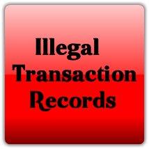 Illegal Transaction Record