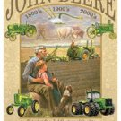John Deere 3rd Century-Tin Sign