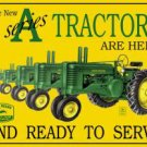 John Deere A Series-Tin Sign