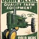 John Deere Quality Equipment-Tin Sign