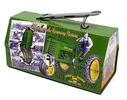 John Deere Baby Gifts Uk : Cute metal tool box john deere