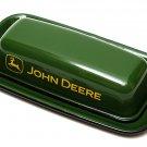 John Deere Enamelware Butter Dish