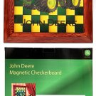 John Deere Wooden Magnetic Checkerboard
