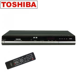 TOSHIBA® DVD RECORDER WITH 1080p UPCONVERSION