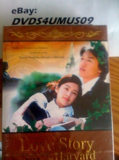 NEW LOVE STORY IN HARVARD [9DISC] Korean Drama DVD